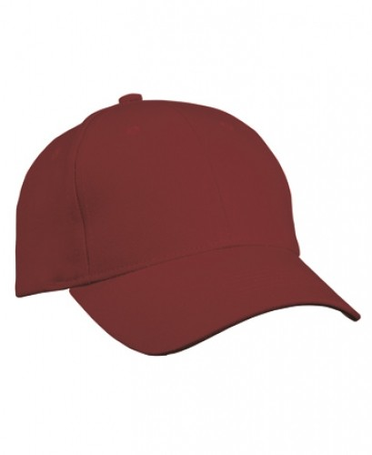 6 Panel Cap heavy Cotton unbrushed
